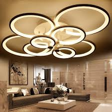 aliexpress com buy blue time acrylic modern led ceiling lights