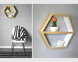 large hexagon shelf honeycomb shelf geometric shelving