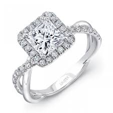 Halo Wedding Rings by Princess Cut Diamond Halo Engagement Ring A Moment A Memory A
