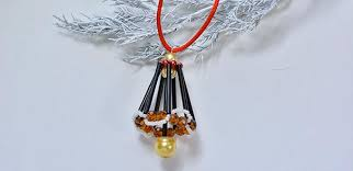 how to make a beaded bell hanging ornament pandahall