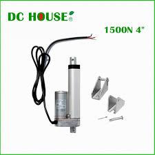 100mm stroke 12V DC 5 7mm s 1500N=150KG load speed mini electric