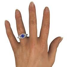 desiree ring blue sapphire 14k white gold ring desiree ring gemvara