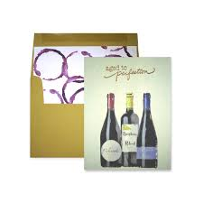 wine birthday wine birthday trio note card