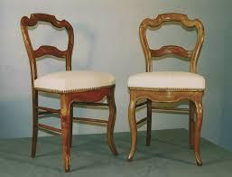 chaises louis philippe paire de chaises louis philippe en merisier pièces uniques la