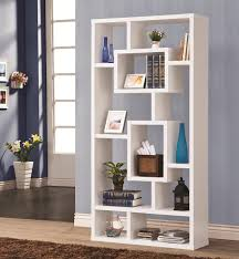 bookshelf astonishing geometric bookcase hanging wall bookcase