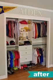 half closet half desk 20 life changing ways to de clutter organize your closet