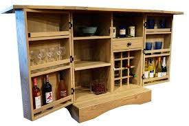 napa wine serving bar from dutchcrafters amish furniture