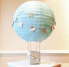 hot air balloon centerpiece 18 boys baby shower centerpieces you ll like shelterness