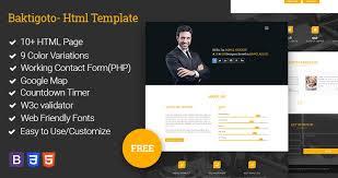 resume html template baktigoto resume html template free by revolthmes