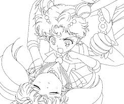 super sailor moon chibimoon coloring 2 sailortwilight