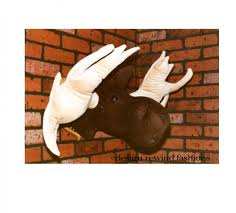 taxidermy home decor fake animal head wall decorations images home wall decoration ideas