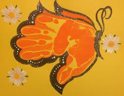 best 25 handprint art ideas on pinterest footprint art baby