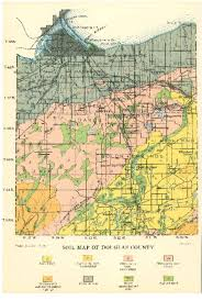 Door County Wisconsin Map by Wisconsin Geological U0026 Natural History Survey Soil Maps Of