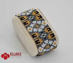beaded bracelet pattern images Loom bracelet pattern beading patterns ellad2 jpg