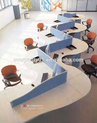 bureau poste de travail design moderne s forme cloison de bureau poste de travail buy