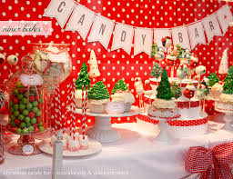 christmas candy bar sweet table www wechooseorganic com u2026 flickr