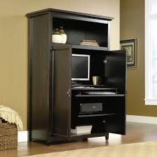 Sauder Sugar Creek Computer Armoire by Corner Office Armoire Affordable Image Of Computer Corner Desk