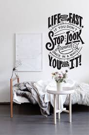 best images about inspirational quotes wall decals life moves pretty fast wall decal from