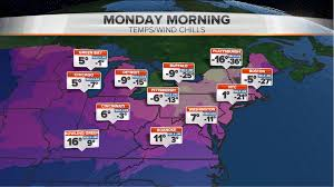 northeast forecast to suffer lowest temperatures in 20 years nbc