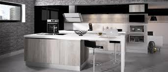 cuisine gris bois cuisine cuisine blanc gris bois 1000 idées sur la décoration