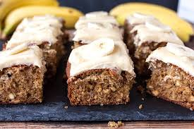 banana cake with toffee frosting simply stacie