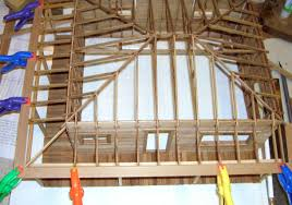 Building A Hip Roof Patio Cover by Smith Pond Junction Railroad Lake Cabin Kit Assembly Tips And Photos