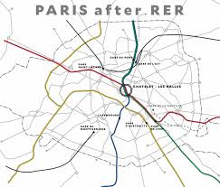 Paris Rer Map Through Running Rethinknyc