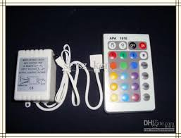 rgb led light controller 24 button rgb led light controller ir remote top quality 12v 6a