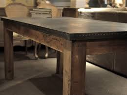cornerstone home interiors zinc dining table cornerstone home interiors industrial