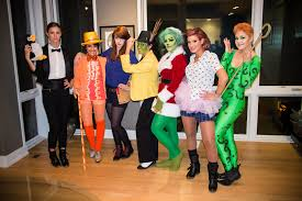 will ferrell group halloween costume photo popsugar entertainment
