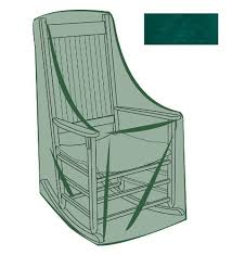 Green Patio Chairs Rocking Chair Outdoor Furniture Cover In Green 26 3