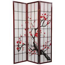 6 panel room divider yosemite home decor folding floor room divider hayneedle