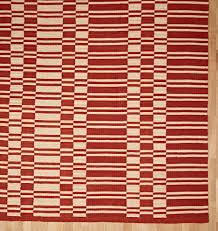 Striped Indoor Outdoor Rugs by Vista Ladder Stripe Indoor Outdoor Rug Rust Rejuvenation