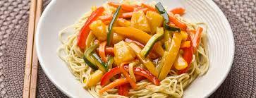 recette cuisine wok recette de wok de légumes sauce aigre douce