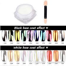 2g shiny glitter polish mirror powder nails pigment polish varnish