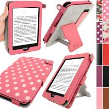Seeking Kindle Igadgitz Polka Dot Pu Leather For Kindle Paperwhite