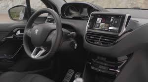 peugeot 208 trunk peugeot 208 interior youtube