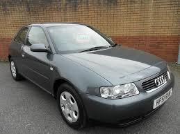 audi a3 1998 for sale used grey audi a3 2001 petrol 1 6 se 3dr hatchback excellent