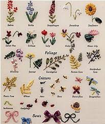 flower encyclopedia an encyclopedia of ribbon embroidery flowers 121 designs by deanna