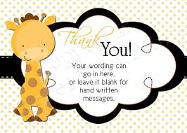 thank you cards baby shower free baby shower thank you card templates ideas anouk invitations