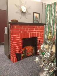 fireplace mantel from cardboard box for you