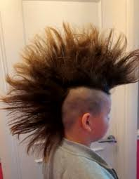 donate hair boy bullied for growing mohawk to donate hair to kids with cancer