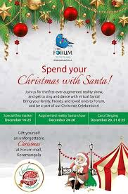Christmas Decorations Online Bangalore by Christmas Celebrations At Forum Mall Koramangala Events In