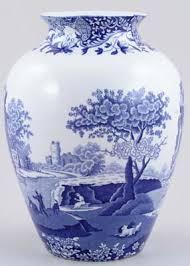 Spode Vases The Italian Pattern Aka Blue Italian U0026 Spode U0027s Italian Was