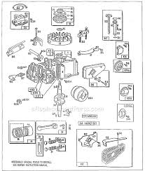 briggs and stratton 90700 series parts list and diagram