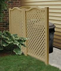 Backyard Garbage Cans by Cover Up That A C Unit And Trash Cans Garden Carpentry Pinterest