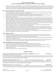 Sample Consulting Resume by Financial Consultant Sample Resume Thermal Decomposition Of Sodium