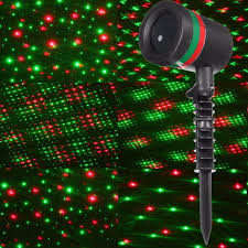 green outdoor christmas lights 15w red green star shower laser stage light outdoor christmas