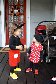 diy halloween costume mickey mouse chirping moms