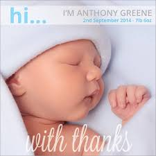 baby thank you cards baby thank you tolg jcmanagement co